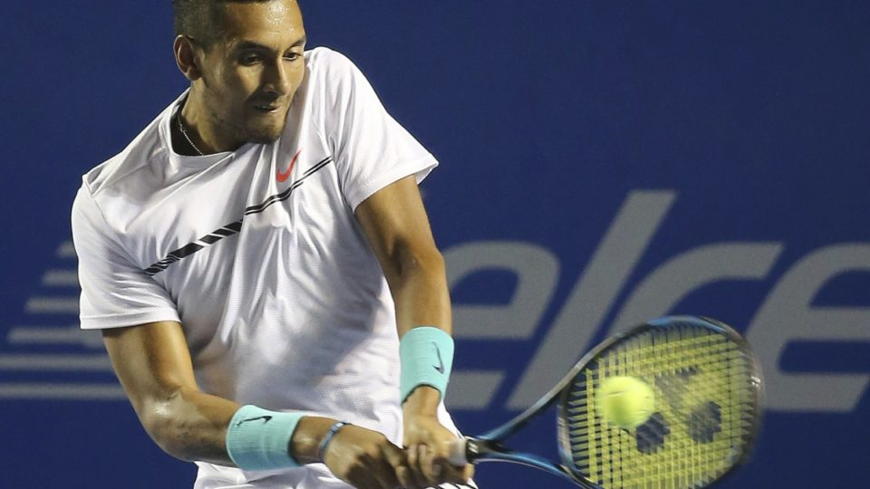 Nick Kyrgios goes from big win to big letdown at Mexico Open