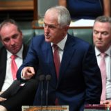 Malcolm Turnbull in parliament