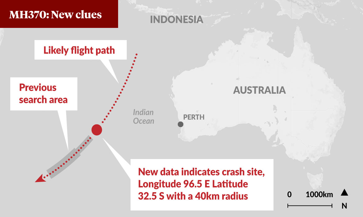 malaysia to resume mh370 search  report