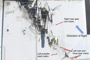 DFO air crash report