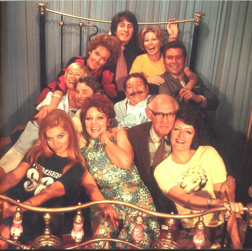 The cast of Number 96 in 1972.