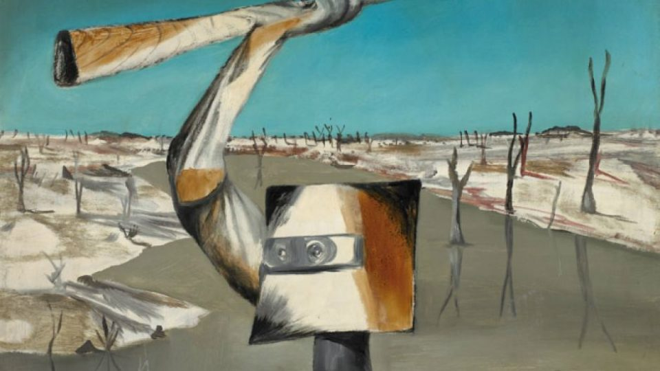 Crossing by Sidney Nolan