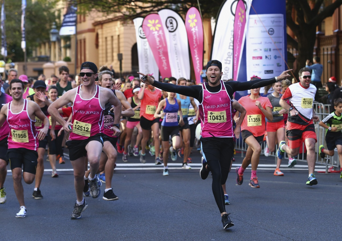The Mother's Day Classic takes part every year to raise money for cancer research