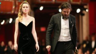 Brie Larson refused to clap while awarding Casey Affleck his award at the Oscars.