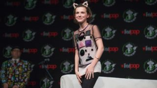 Actress Millie Bobby Brown cancels convention appearance.