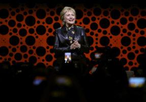 Hillary clinton breaks silence
