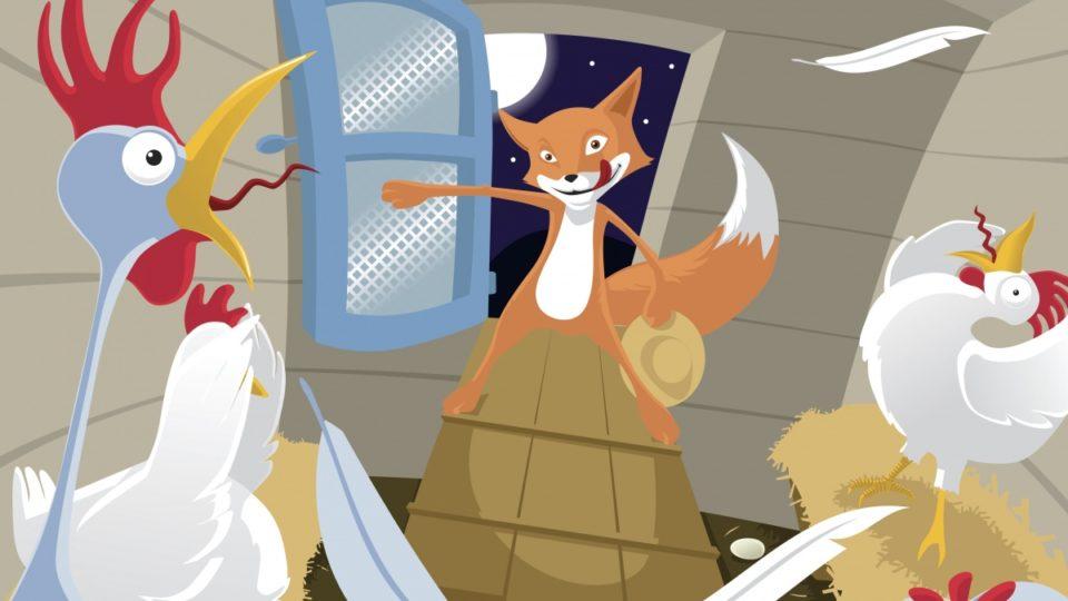 Fox in henhouse.