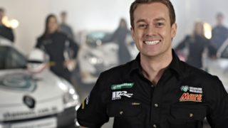"TV personality Grant Denyer was flown to hospital after a crash but is said to be ""in good spirits""."
