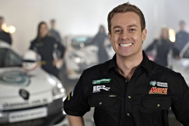 """TV personality Grant Denyer was flown to hospital after a crash but is said to be """"in good spirits""""."""