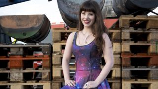 Jessica Bloom combines science with circus tricks.