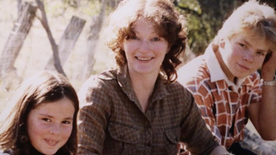 Murder victim Margaret Tapp and her two children.
