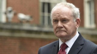 Former Northern Ireland Deputy First Minister Martin McGuinness has died.