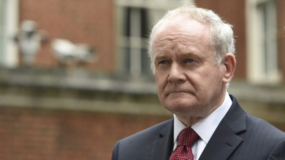 Ex-IRA leader Martin McGuinness' body carried home