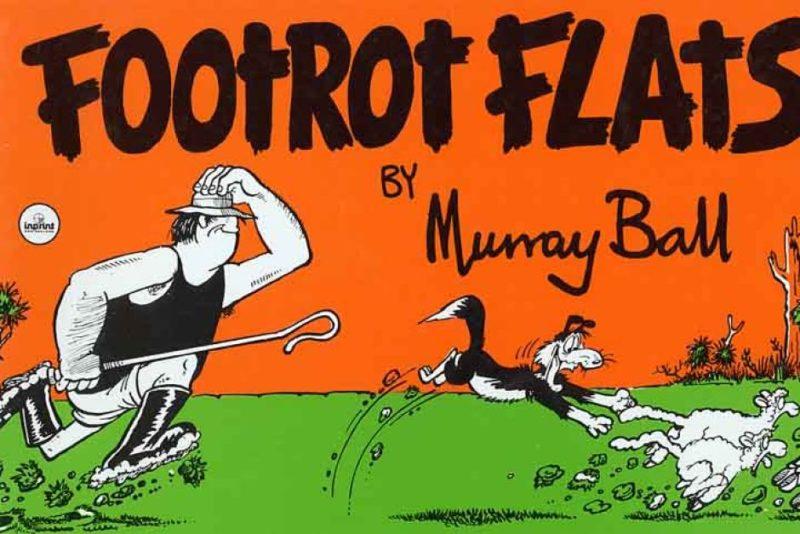 Murray Ball cartoon Footrot Flats