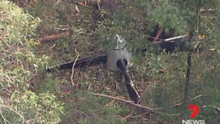 Propeller found in bushland