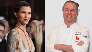 What do a Hollywood starlet and a top chef have in common? A cockroach, apparently.