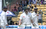 Virat Kohli was fuming after an DRS incident on day four of the second Test.