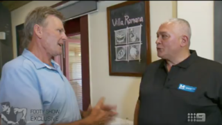 Mick Gatto appeared on The Footy Show on Thursday night with Sam Newman.