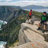 Walkers at the Three Capes track, Tasmania