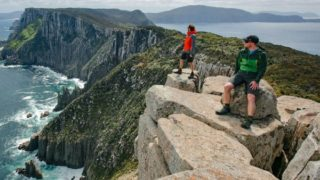 Walkers at the Three Capes track, Tasmania
