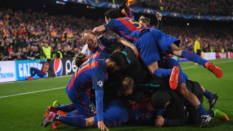 barcelona psg goals
