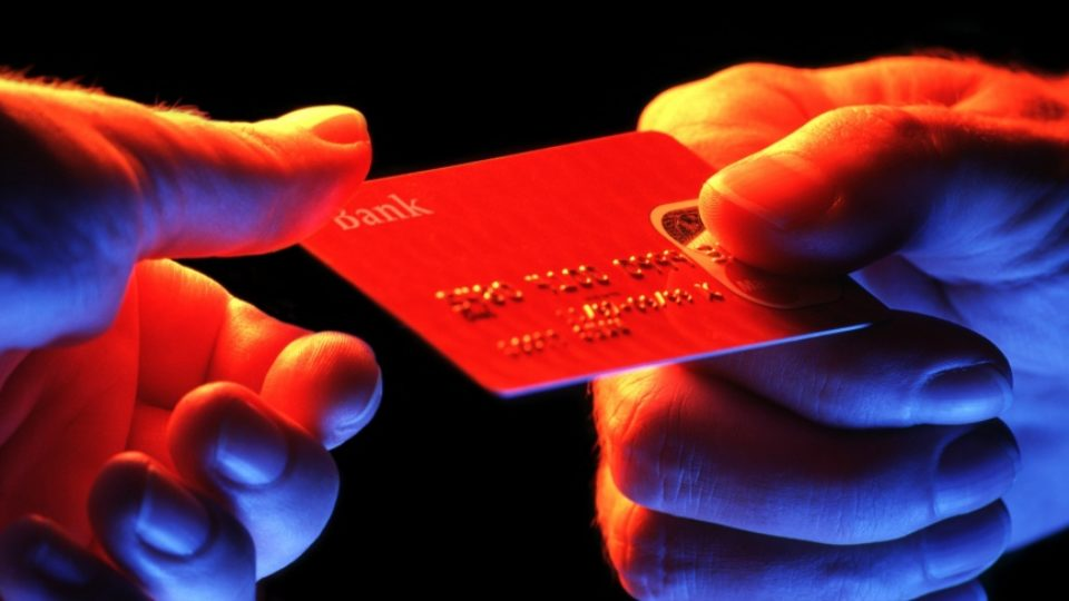 credit card hands