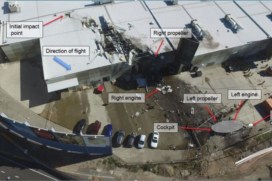 No Sign Of Engine Failure In Melbourne Shopping Centre Air Crash