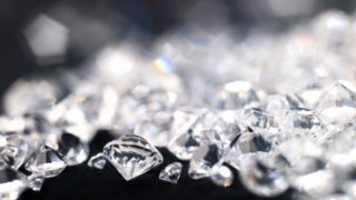 A man was caught trying to smuggle 1000 diamonds into China from Hong Kong.