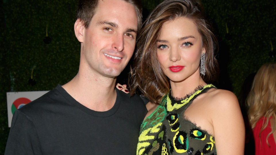 Miranda kerr expecting second child - Evan spiegel miranda kerr ...