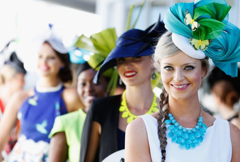 Sydney race fashion