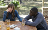 Allison Williams (left) and Daniel Kaluuya star in Get Out.