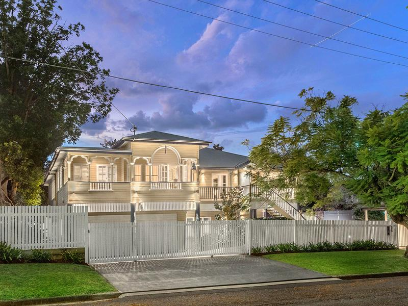 It boasts high ceilings, polished floorboards and is located north-east of the Brisbane CBD. Photo: Ray White