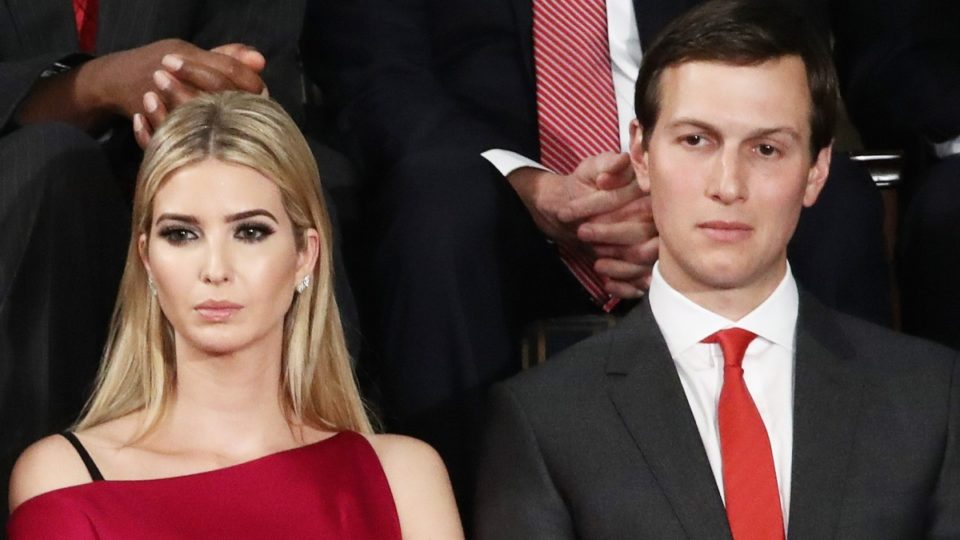Power comes at a price for Ivanka Trump and her husband, Jared Kushner.