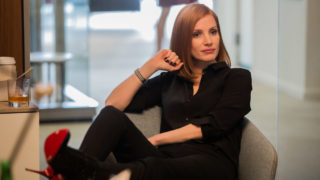 Jessica Chastain stars in Miss Sloane, in cinemas from March 2. Watch our video to see other new releases.