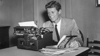 "John F Kennedy said Adolf Hitler had in him ""the stuff of legends""."