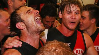 After two years of hell, Jobe Watson is back.