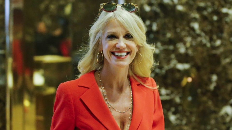 Kellyanne Conway's life before Trump included photo shoots and stand-up comedy.