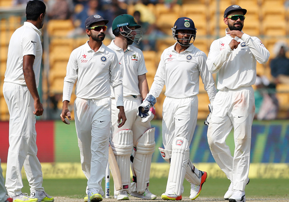 India vs Australia 2017: ICC match referee rates Bengaluru pitch 'below average'