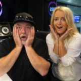 """Kyle Sandilands (left, with co-host Jackie O) promised to reveal the """"bad things"""" other networks were doing."""