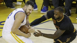lebron james andrew bogut