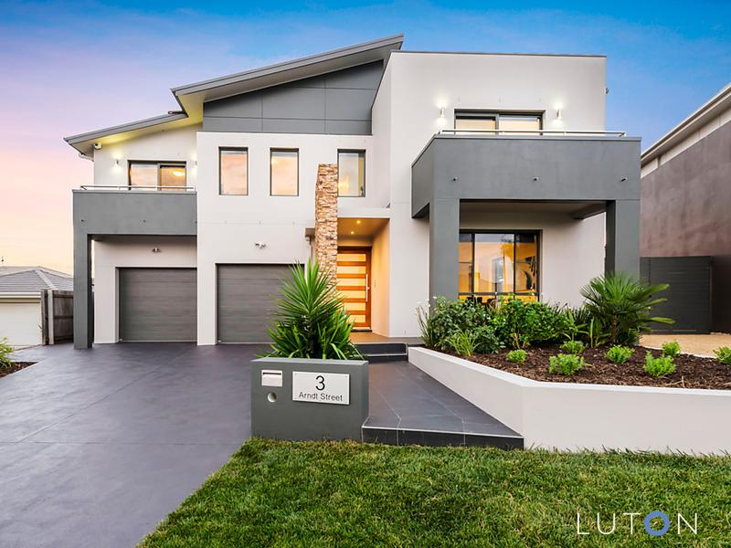 Boasting five bedrooms, Canberra's top sale for the weekend sits on a 810m2 parcel of land. Photo: Luton