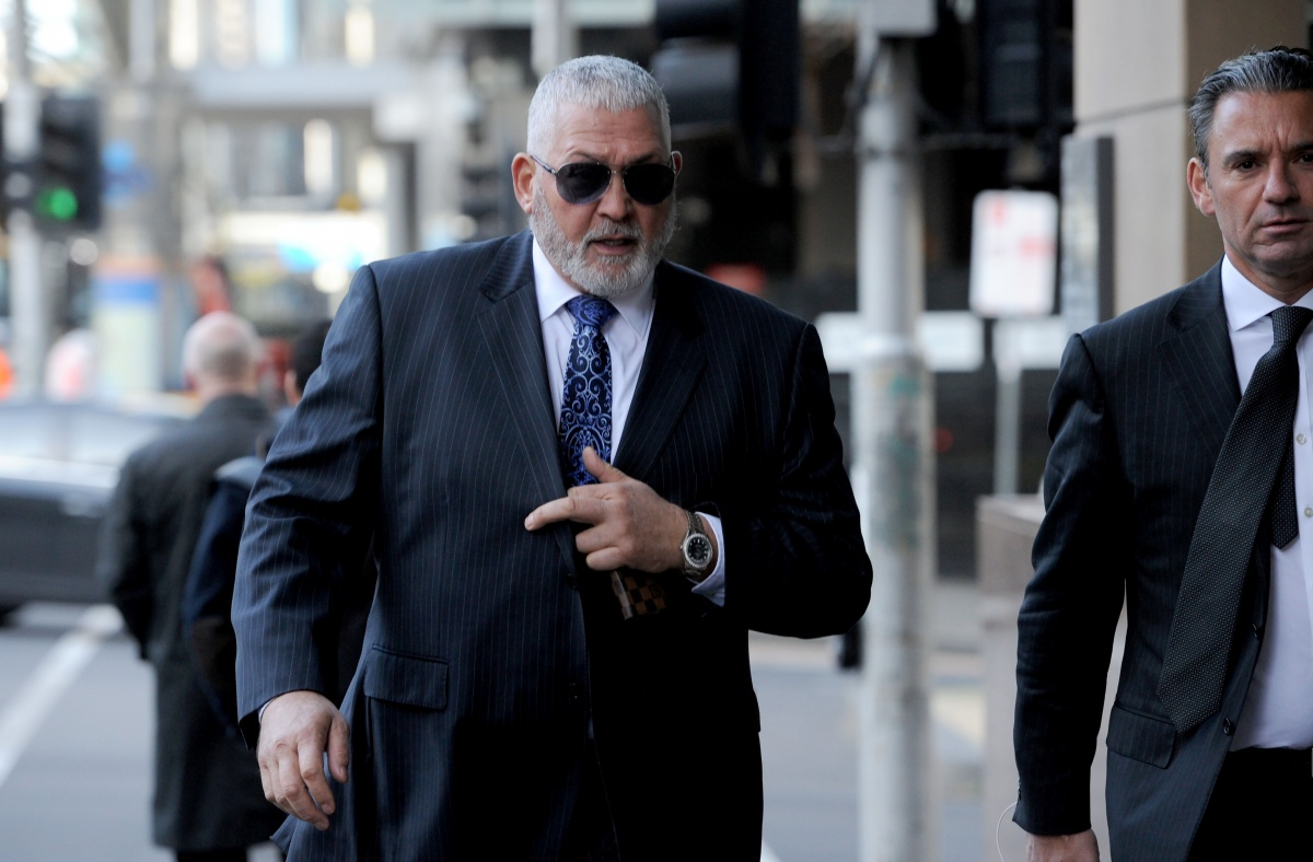 Mick Gatto: Gatto Claims He Was 'embroiled' In Essendon Supplements