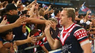 Veteran utility Mitch Aubusson tasted premiership success with with the Roosters in 2013. Now he's hungry for more.