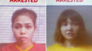 Indonesian suspect Siti Aisyah and Vietnamese suspect Doan Thi Huong