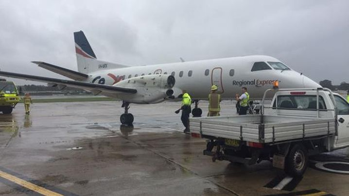 A Rex aircraftl landed in Sydney after losing a propeller on Friday. Read more at http://www.9news.com.au/national/2017/03/17/14/33/rex-aircraft-lands-in-sydney-without-propellor#9cwdT1AYD0LhjW8l.99