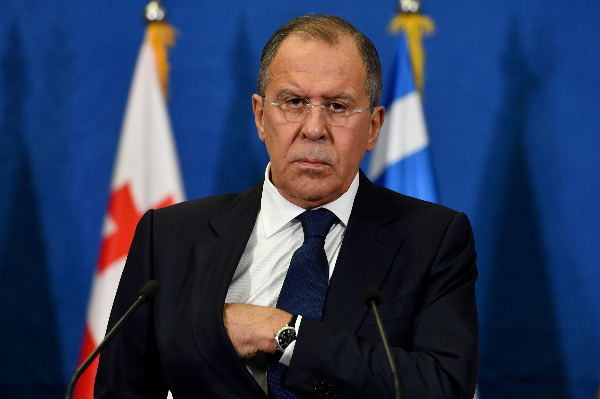 Syria gas attack was staged says sergey lavrov