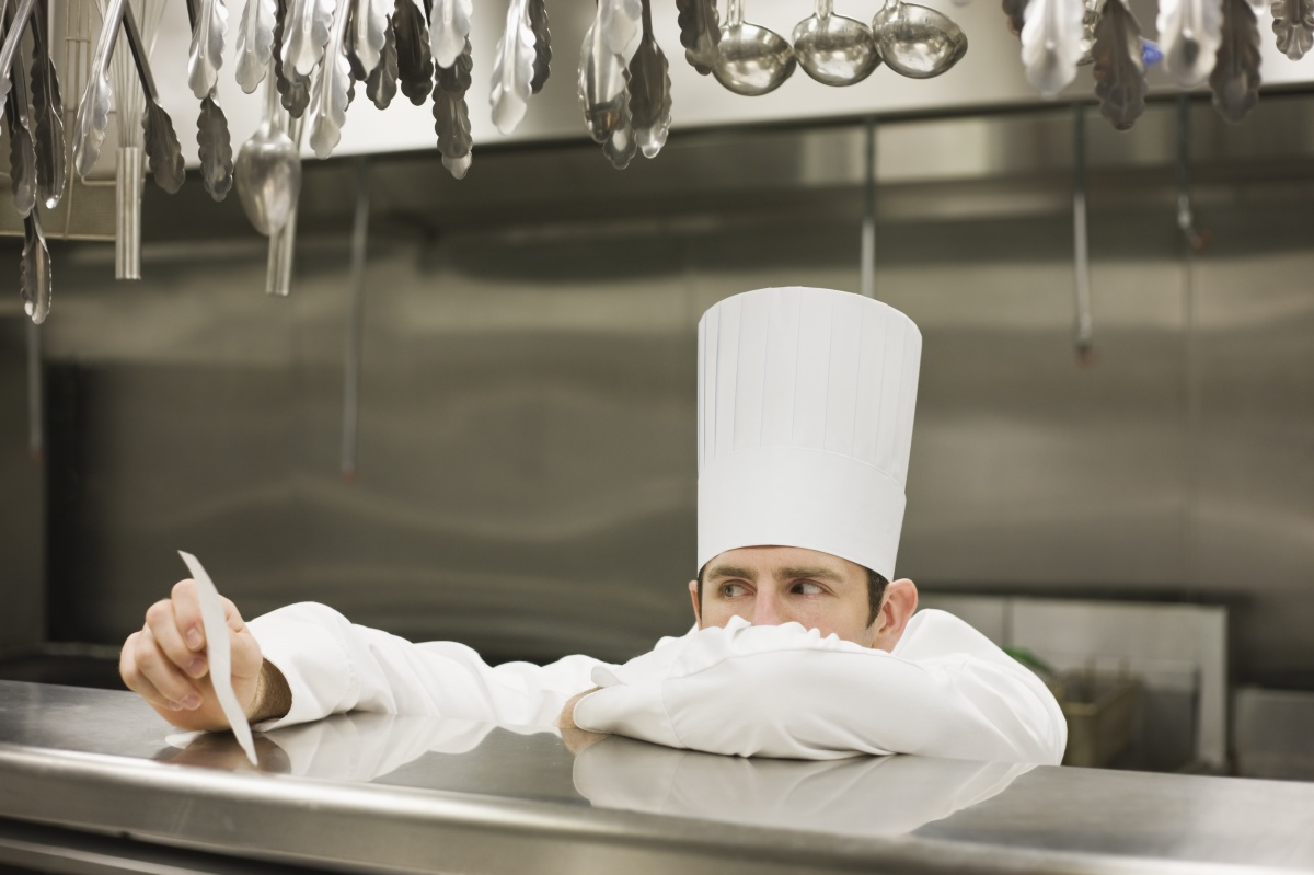 Chefs must cook food that fits hundreds of different requests. Photo: Getty
