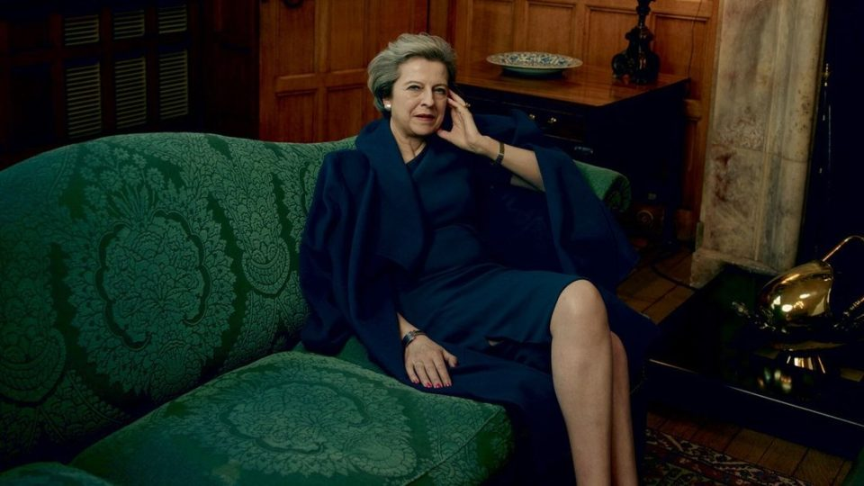 theresa may vogue