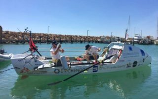 rowing world record