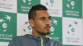 Nick Kyrgios celebrated his birthday on Thursday saying his grandfather was 'always supporting, always knew the score, what was going on'. Photo: AAP